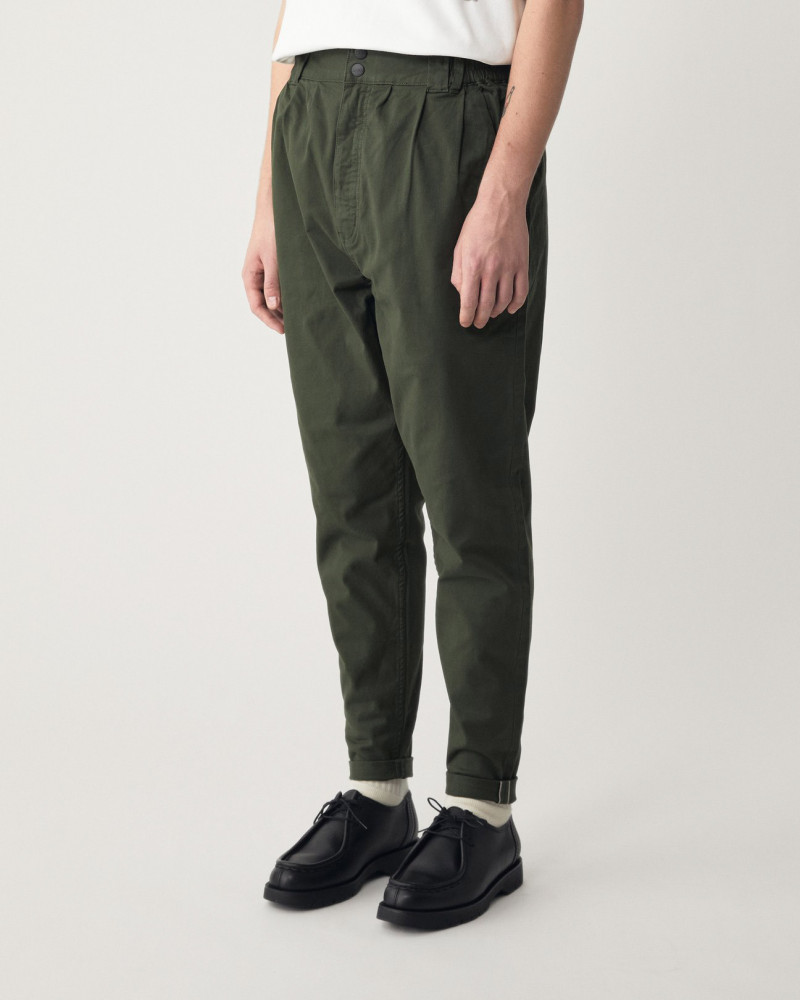 LAKH Supply|Tapered Pants・Olive
