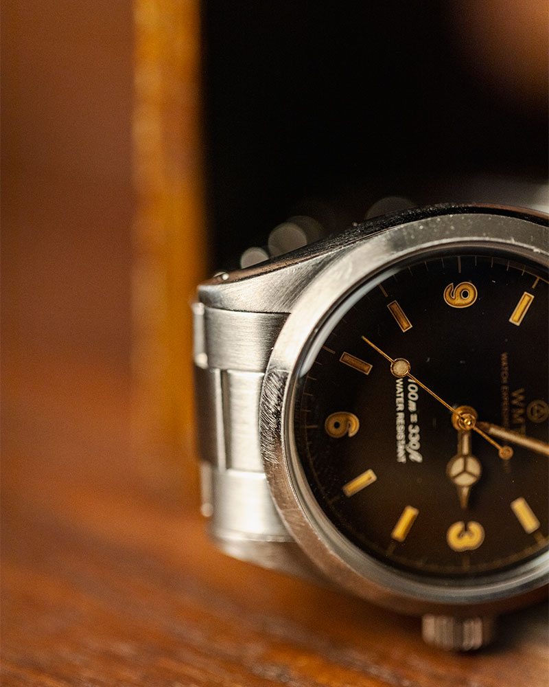 WMT Watches Barracuda・Tropical Brown / Aged Edition w/ Anziano Leather Strap Set