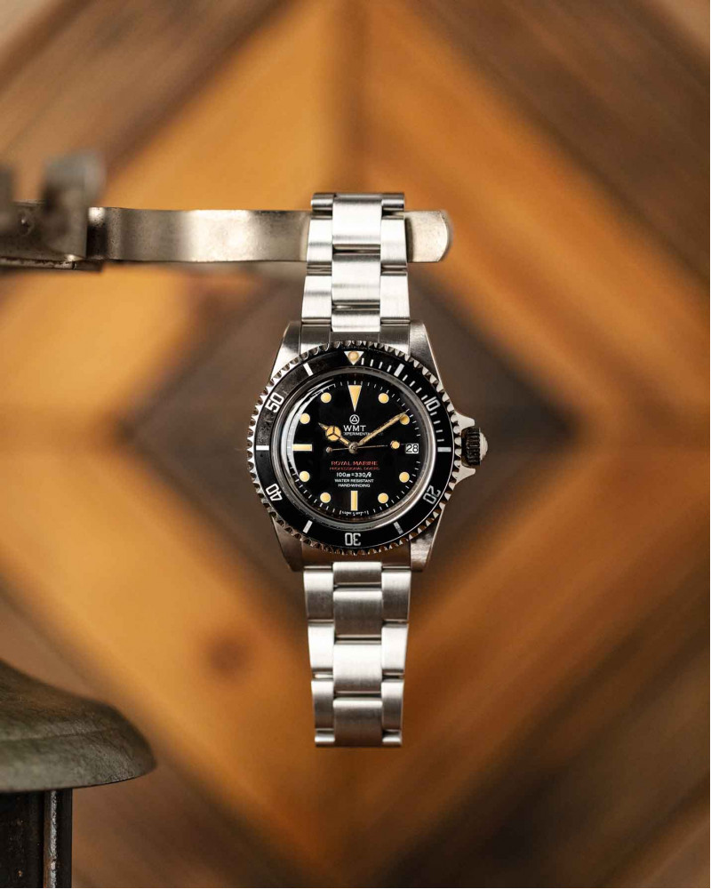 WMT Watches|Royal Marine・Black dial / Aged Edition