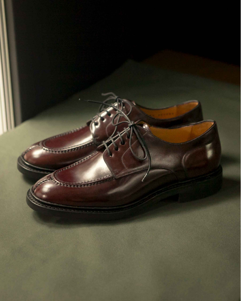 Berwick1707 for HOAX 10th|4958 Cordovan NST Blucher・Color 8