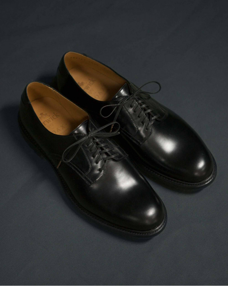 "Berwick1707 for HOAX 10th|""TENTH"" Service Shoes・Black"