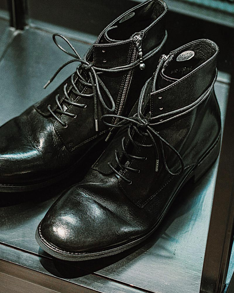 RAD by RAUDi for HOAX 10th|Washed Zip Boots