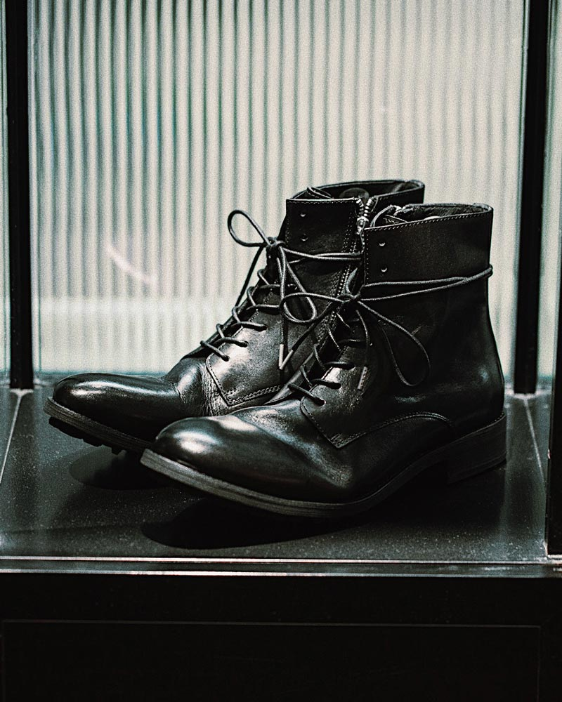 RAD by RAUDi for HOAX 10th Washed Zip Boots