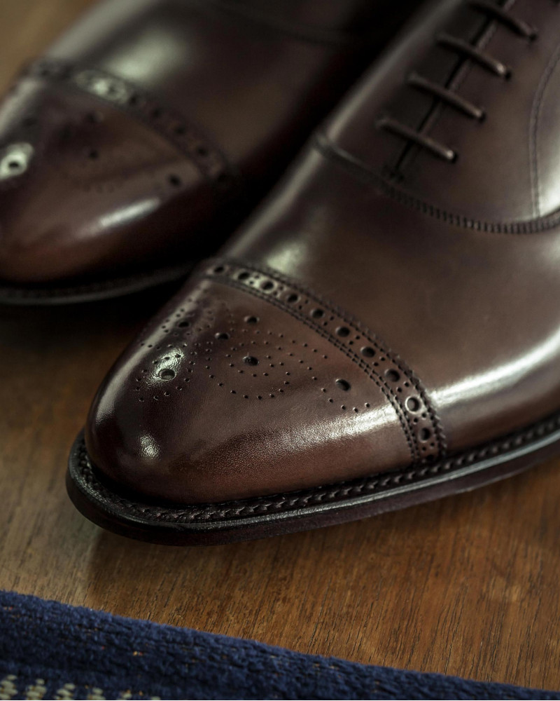 Joseph Cheaney & Sons for HOAX 10th|Rushton III Semi Brogue・Mocha