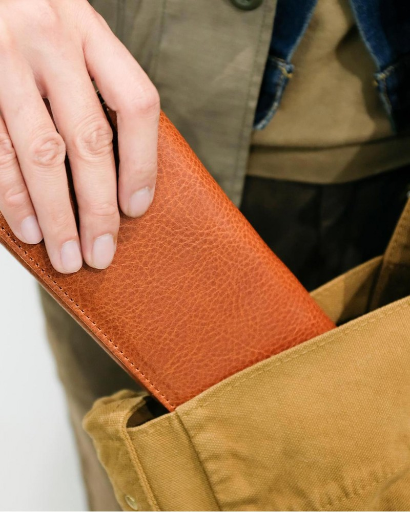 Butler Verner Sails|Tochigi Leather Long Wallet
