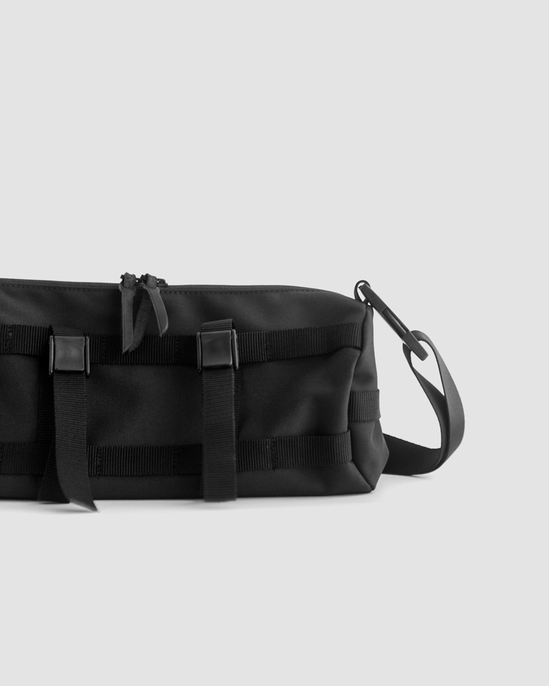 Butler Verner Sails Cordura® Multi-use Shoulder Bag・Black