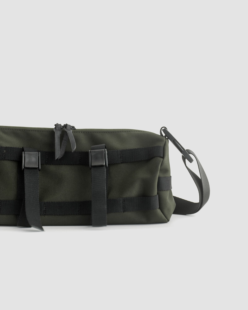 Butler Verner Sails Cordura Multi-use Shoulder Bag・Khaki