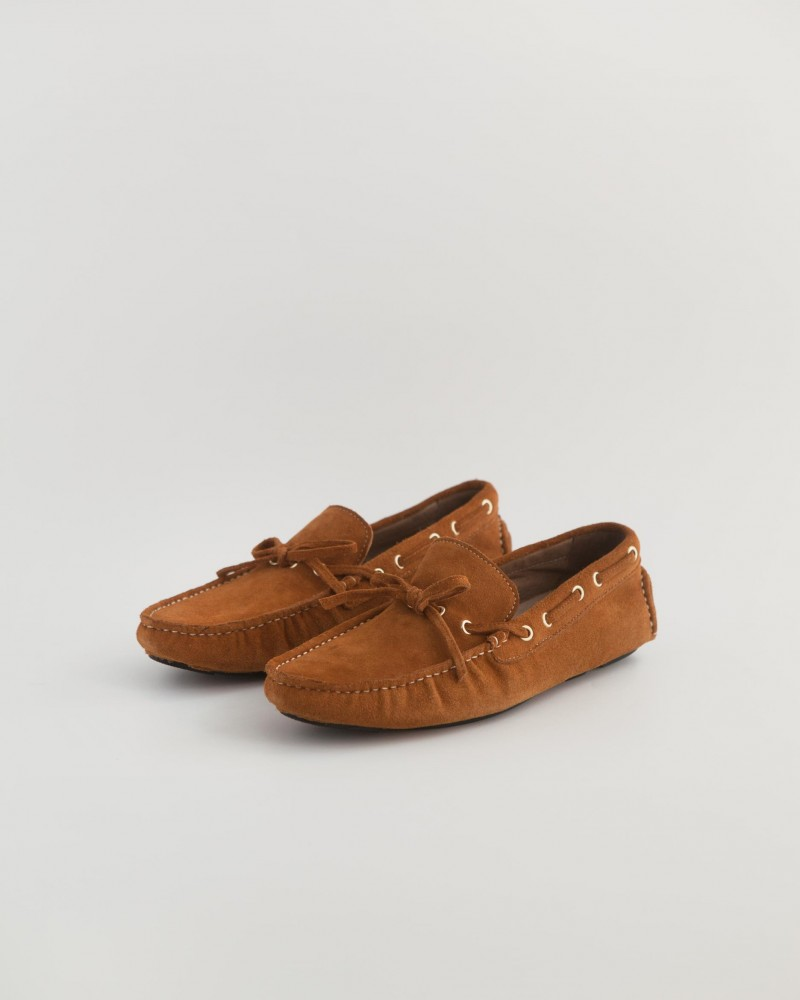 RAD by RAUDi|2020 Suede Driving Shoes・Camel