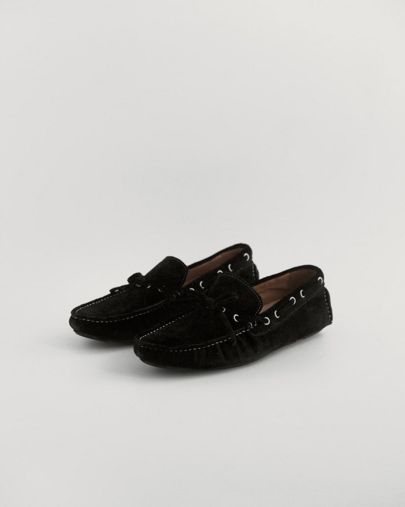 RAD by RAUDi|2020 Suede Driving Shoes・Black