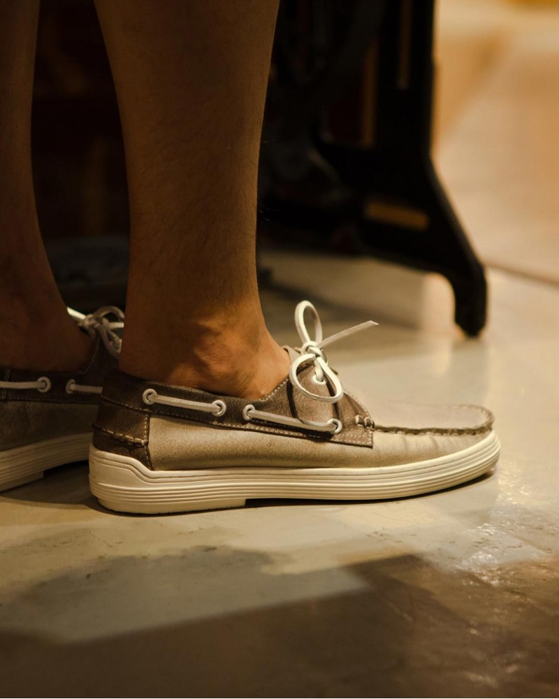 RAD by RAUDi|R2050 Air Ring System Deck Shoes・Ivory