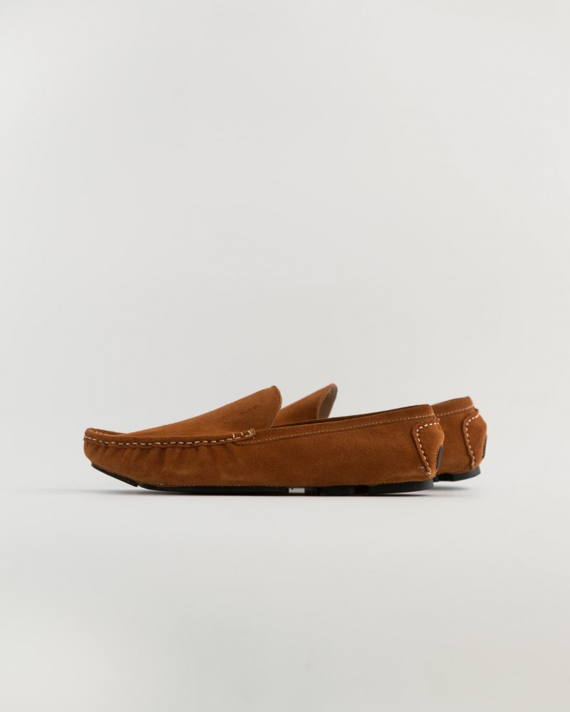 RAD by RAUDi|2130 Suede Driving Shoes・Camel