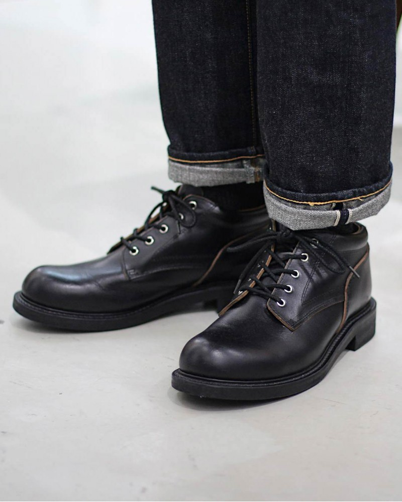 Slow Wear Lion|Ankle Boots・Black