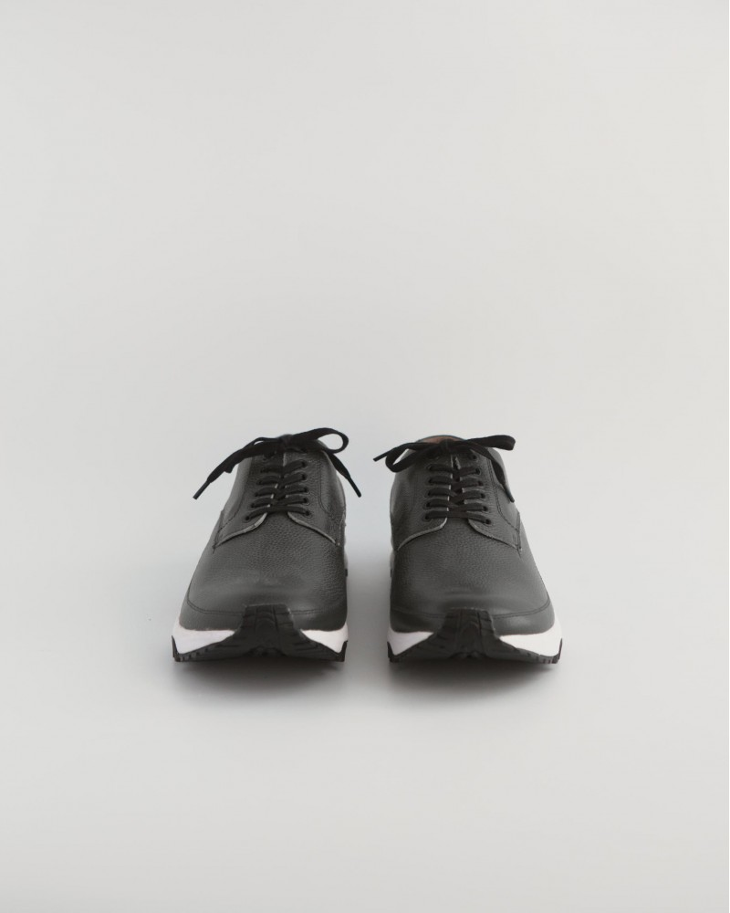 Mythography x WST END by HOAX|Leather Sneakers・Grey