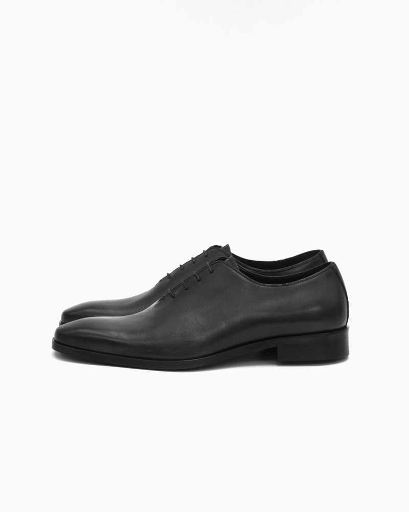 Elastico|651 Whole Cut Oxford・Black