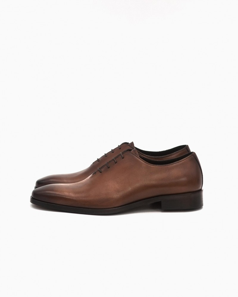 Elastico|651 Whole Cut Oxford・Tabaco