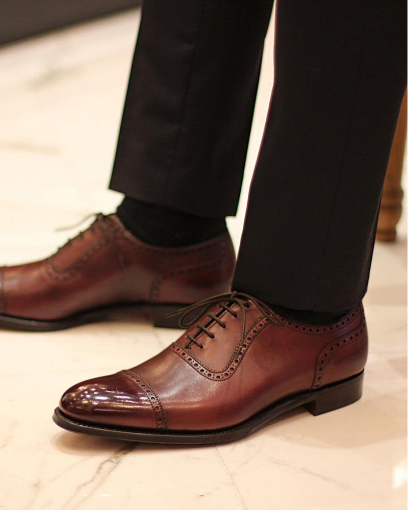 Joseph Cheaney & Sons|Fenchurch・Burgundy