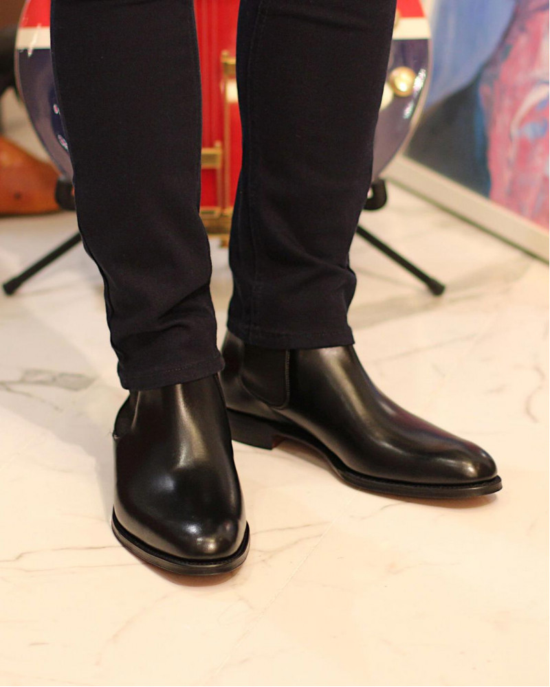 Joseph Cheaney & Sons|Threadneedle Chelsea Boots・Black