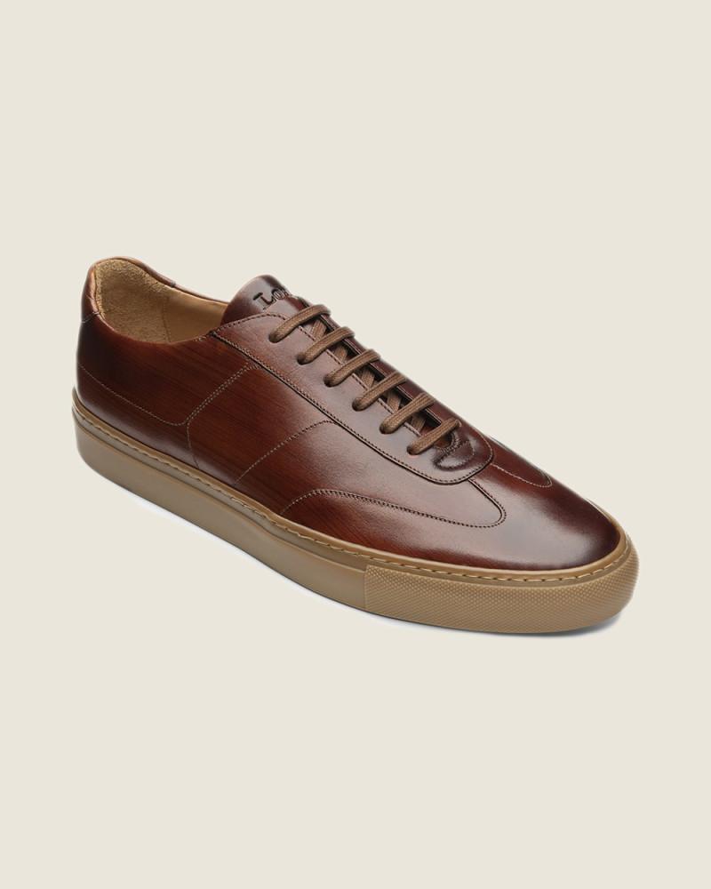 英國直送|Design Loake|Owens Sneakers・Chestnut