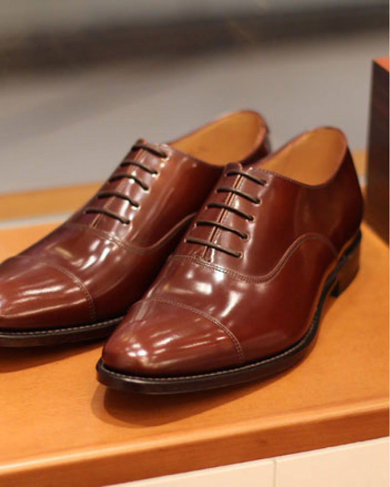 Loake for HOAX|Smith Cap Toe Oxford・Brown