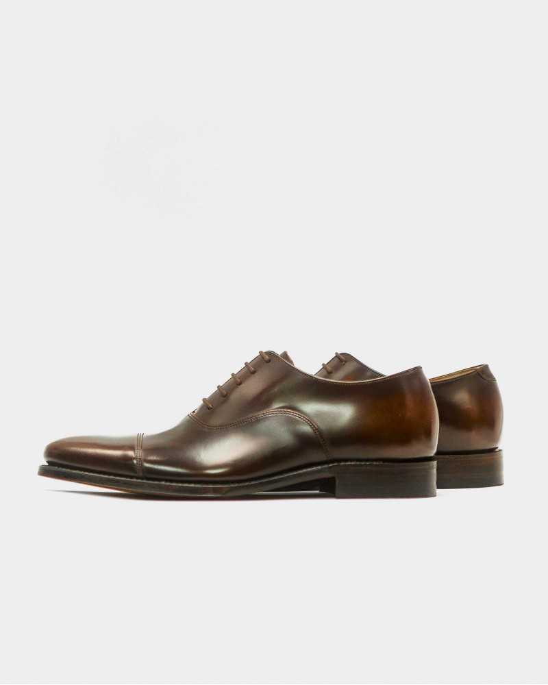 Loake for HOAX|Smith Cap Toe Oxford・Expresso
