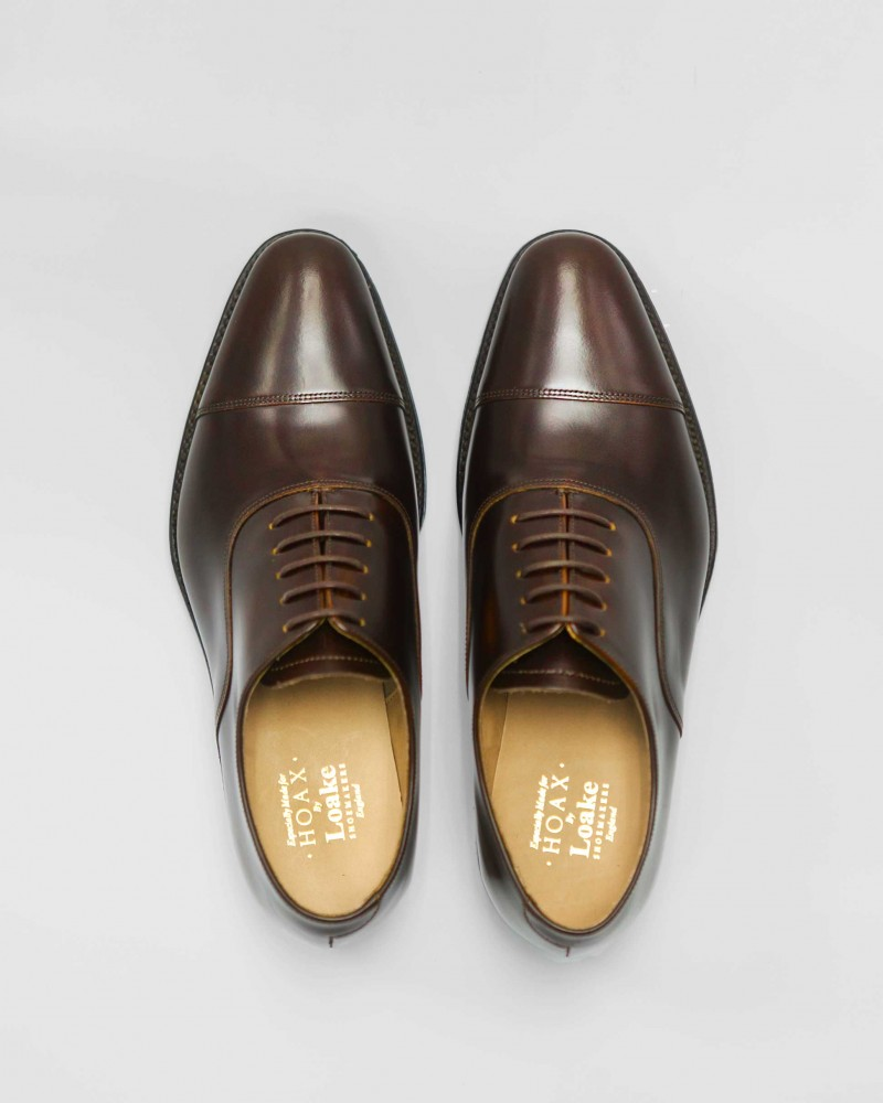 MTO・Loake Smith Cap Toe Oxford・Expresso