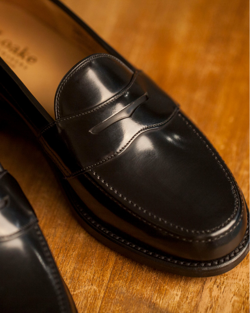 Loake|Eton Penny Loafer・Black