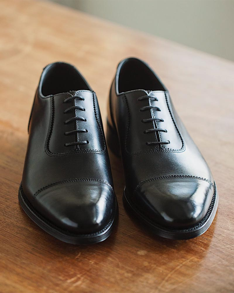 Loake 1880 Legacy|Evans Cap Toe Oxford・Black