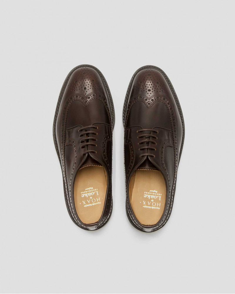 Loake for HOAX|Royal Long Wing Brogue・Expresso