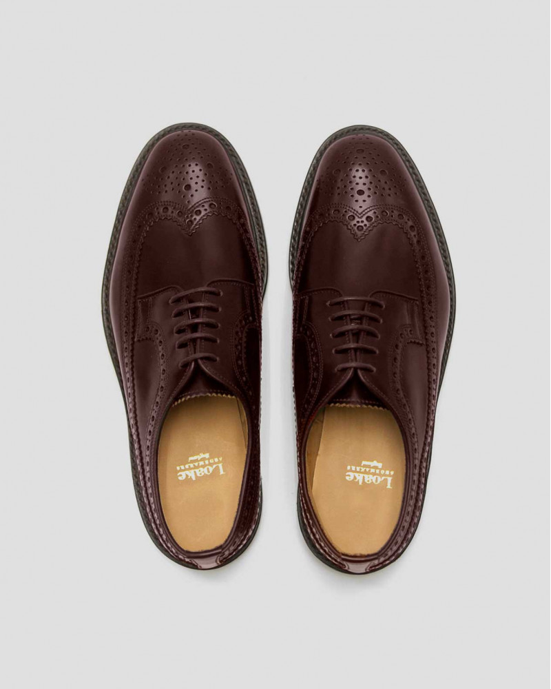 Loake Long Wing Brogue・Oxblood