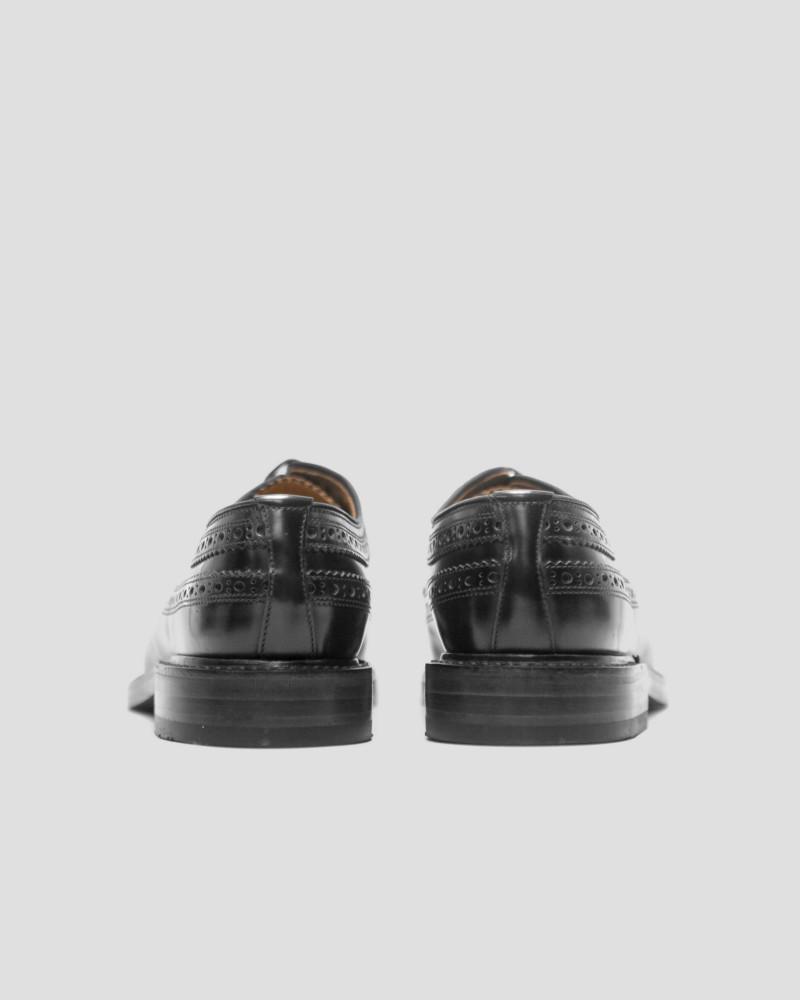 Loake|Royal Long Wing Brogues・Black