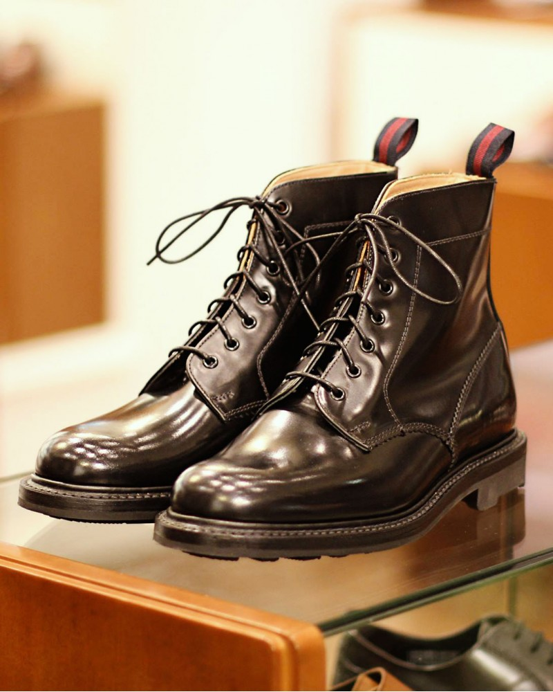 Sanders for HOAX|1510B Combat Boots・Black
