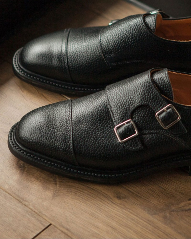 Sanders for HOAX|9474 Double Monk・Black Grain