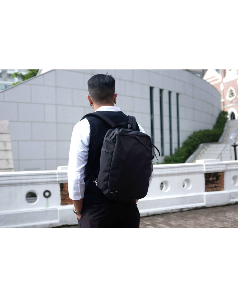 Anonym Craftsman Design 9H 2 Way Backpack・Black