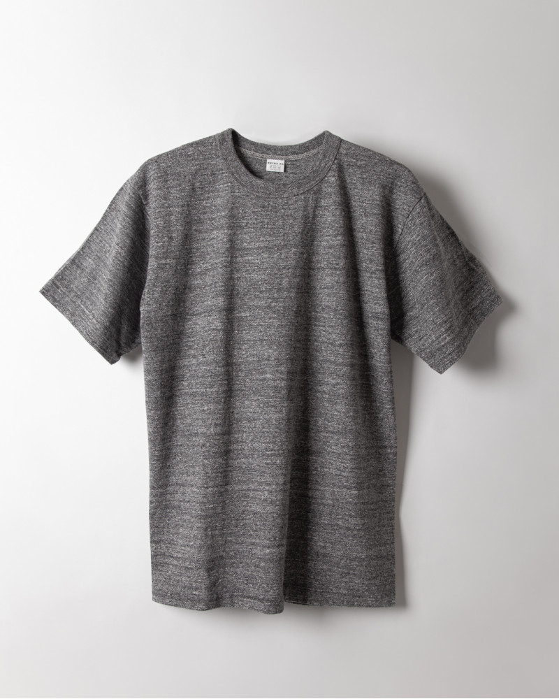 "ENTRY SG|""Excellent Weave"" Tee.Graphite"