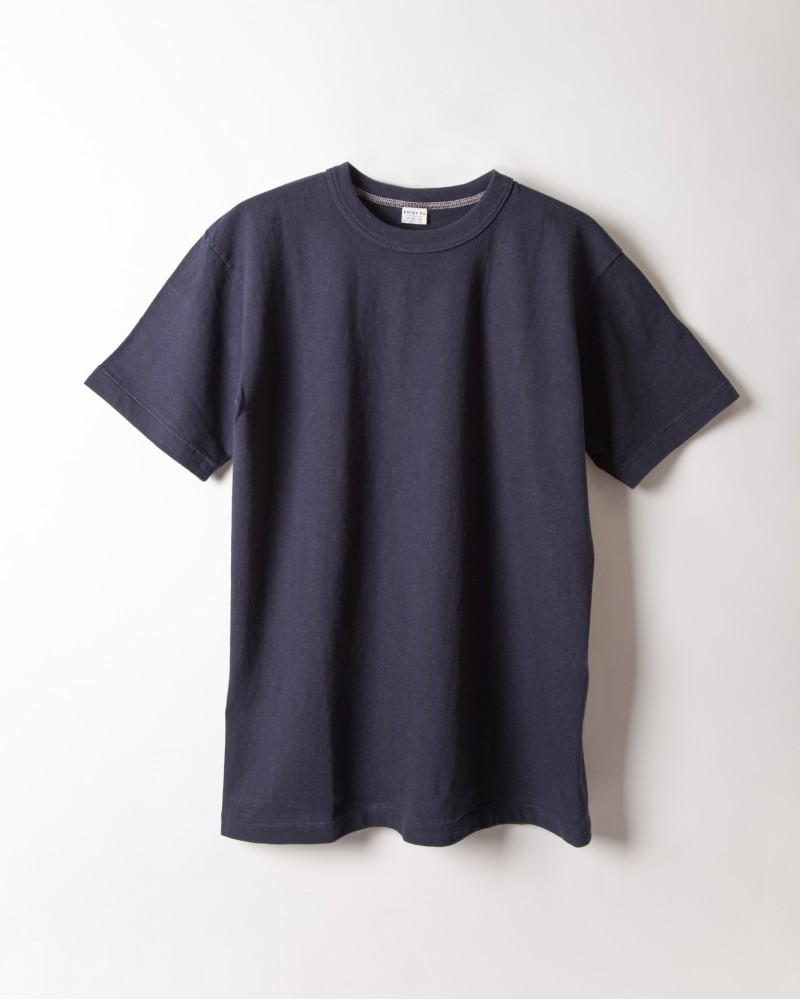 "ENTRY SG|""Excellent Weave"" Tee.Blue"