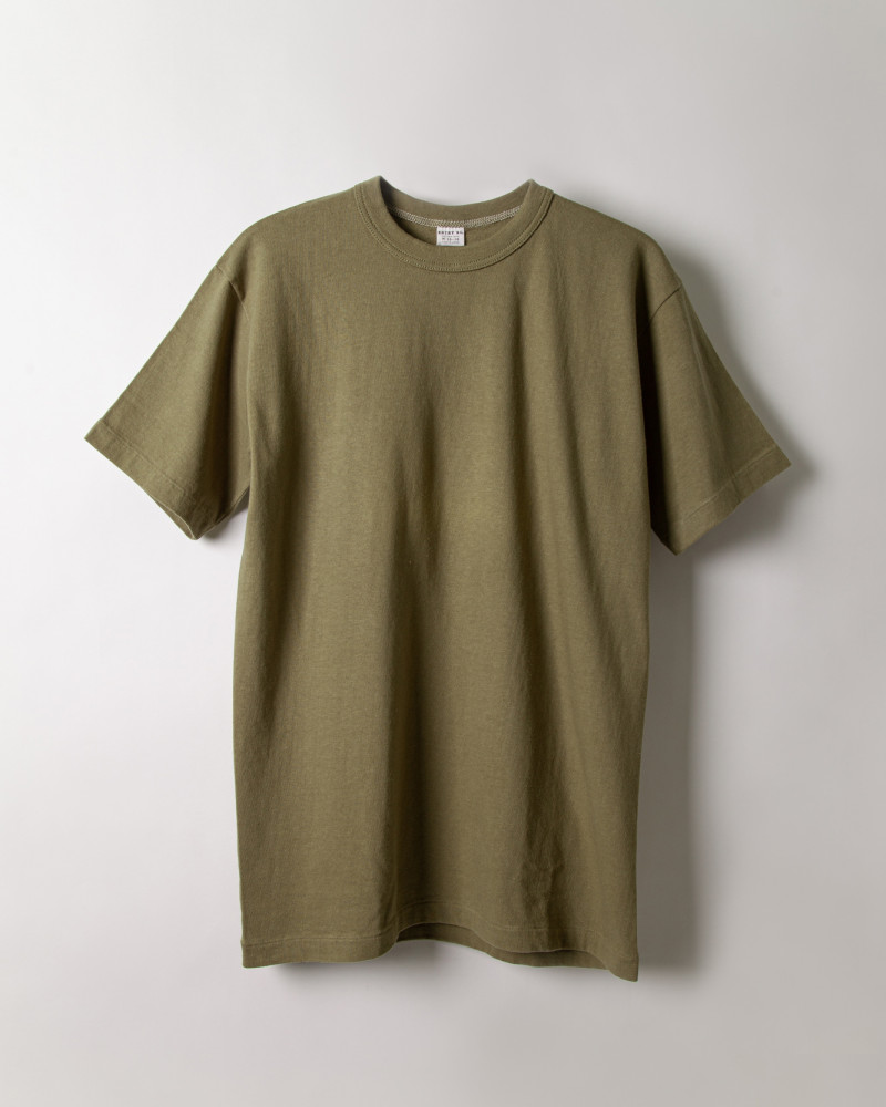 "ENTRY SG|""Excellent Weave"" Tee.Bronze Green"