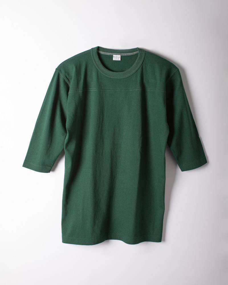 ENTRY SG|Remedy Half Sleeve Tee・Green