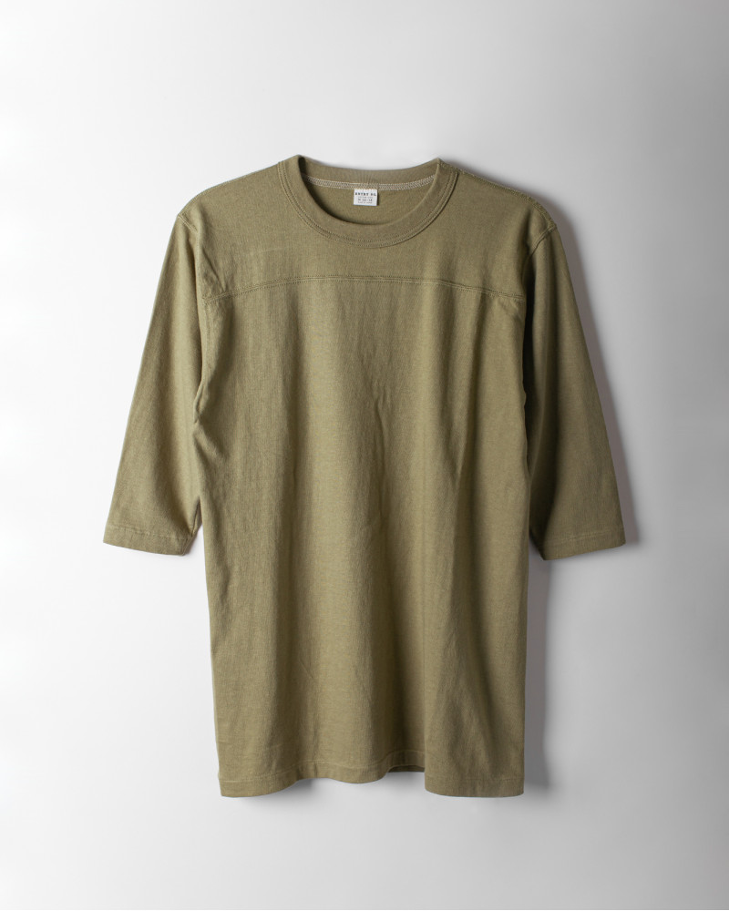 ENTRY SG|Remedy Half Sleeve Tee・Bronze Green