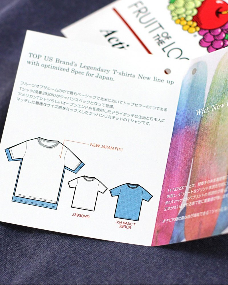 Fruit Of The Loom|Pigment Dye Tee Shirt