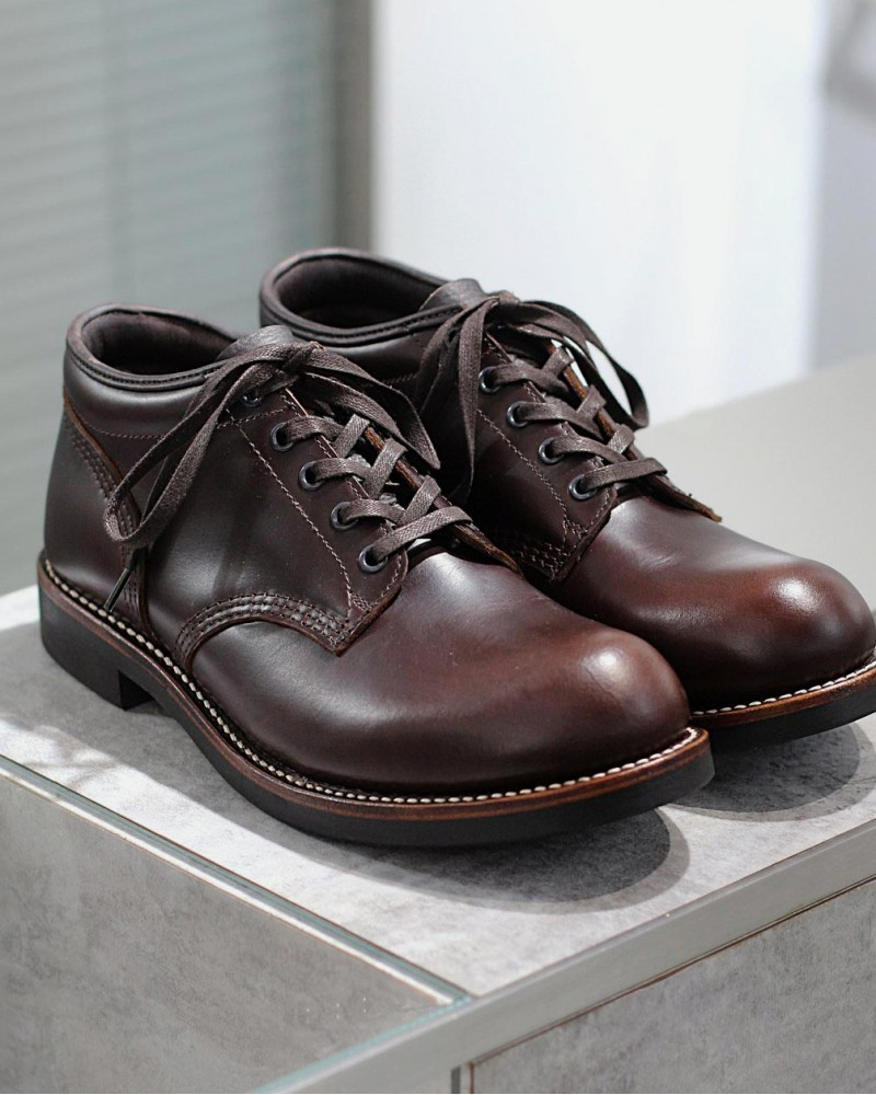 Brother Bridge x Wst End By Hoax|Ankle Boots・Dark Brown