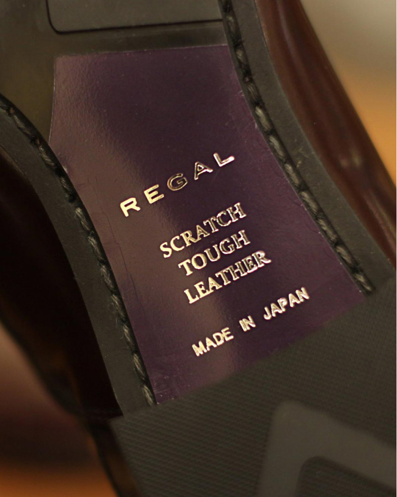 REGAL|31TR Captoe Oxford・Dark Brown|Scratch Tough Leather