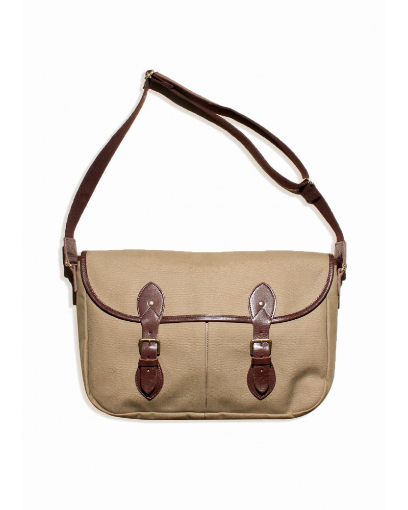 Butler Verner Sails Big Flap Shoulder Bag - Beige