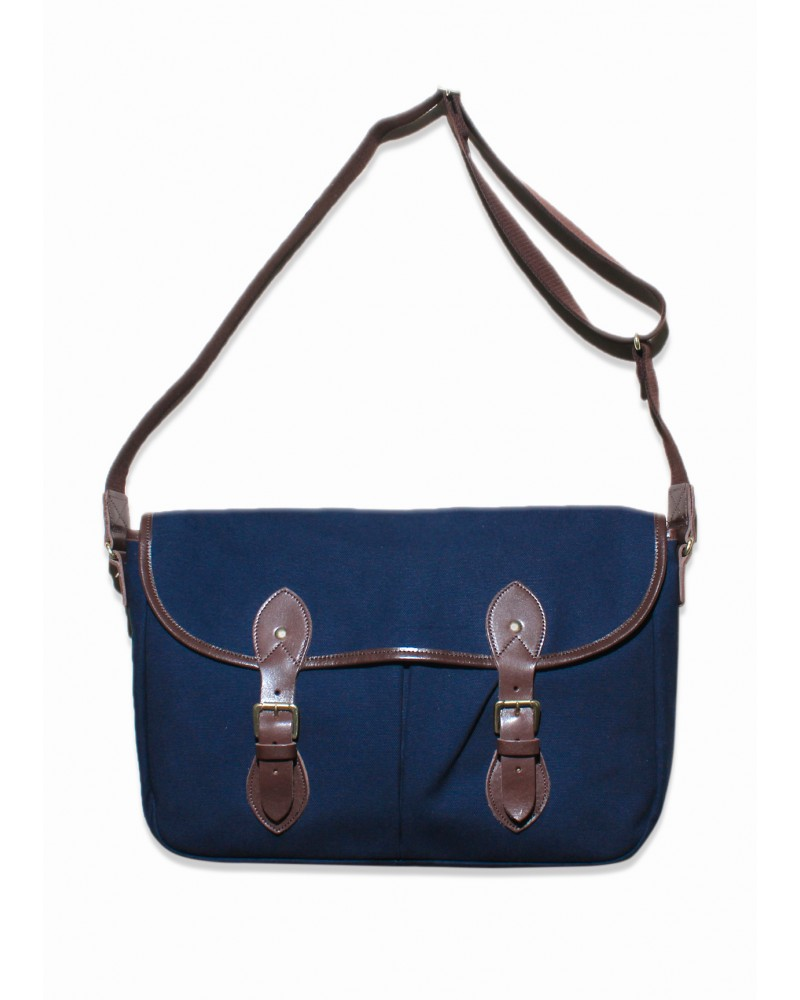 Butler Verner Sails Big Flap Shoulder Bag - Navy
