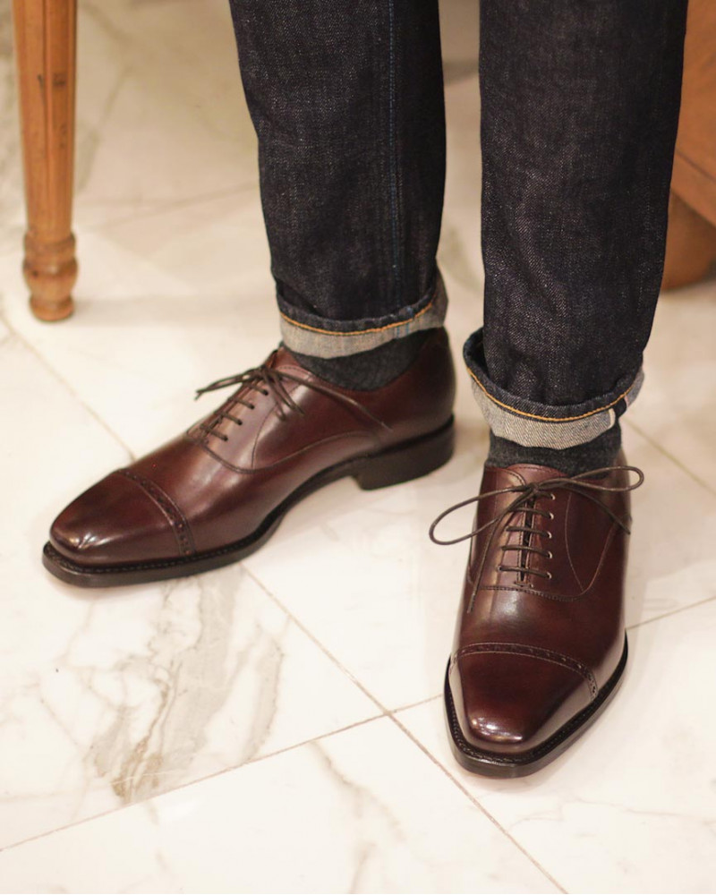Berwick1707 for HOAX|4473 Quarter Brogue・Moka