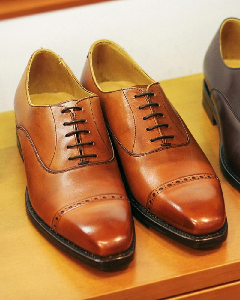 Berwick1707 for HOAX|4473 Quarter Brogue・Tan