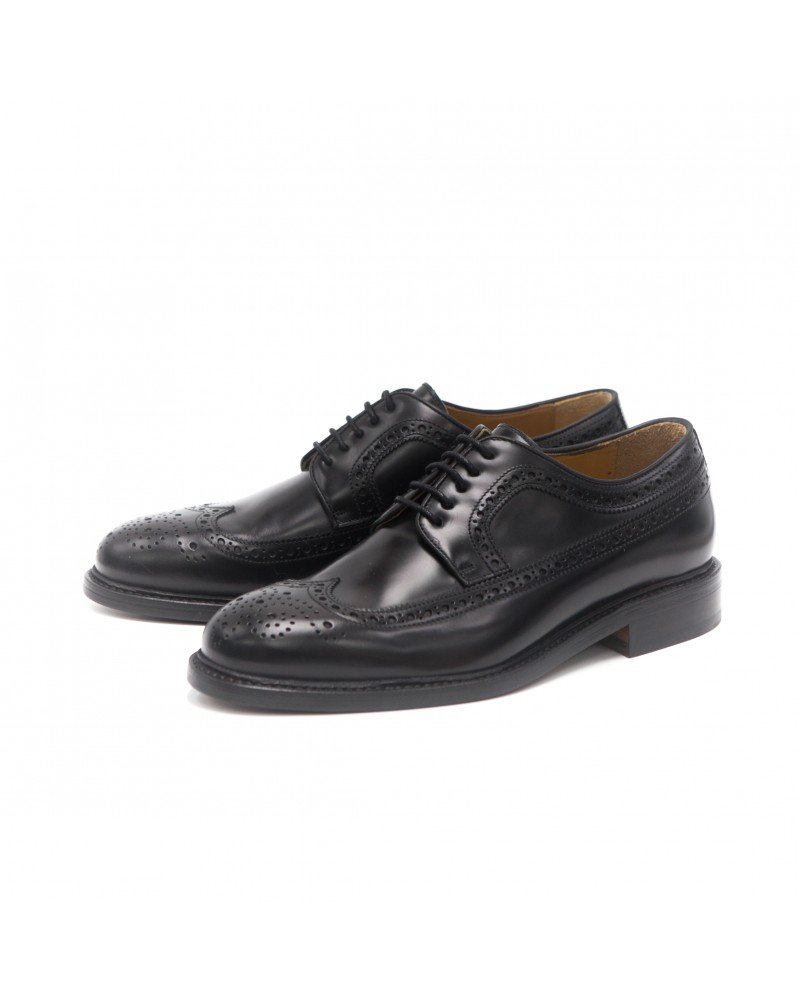 Berwick1707|3681 Longwing Brogues・Black