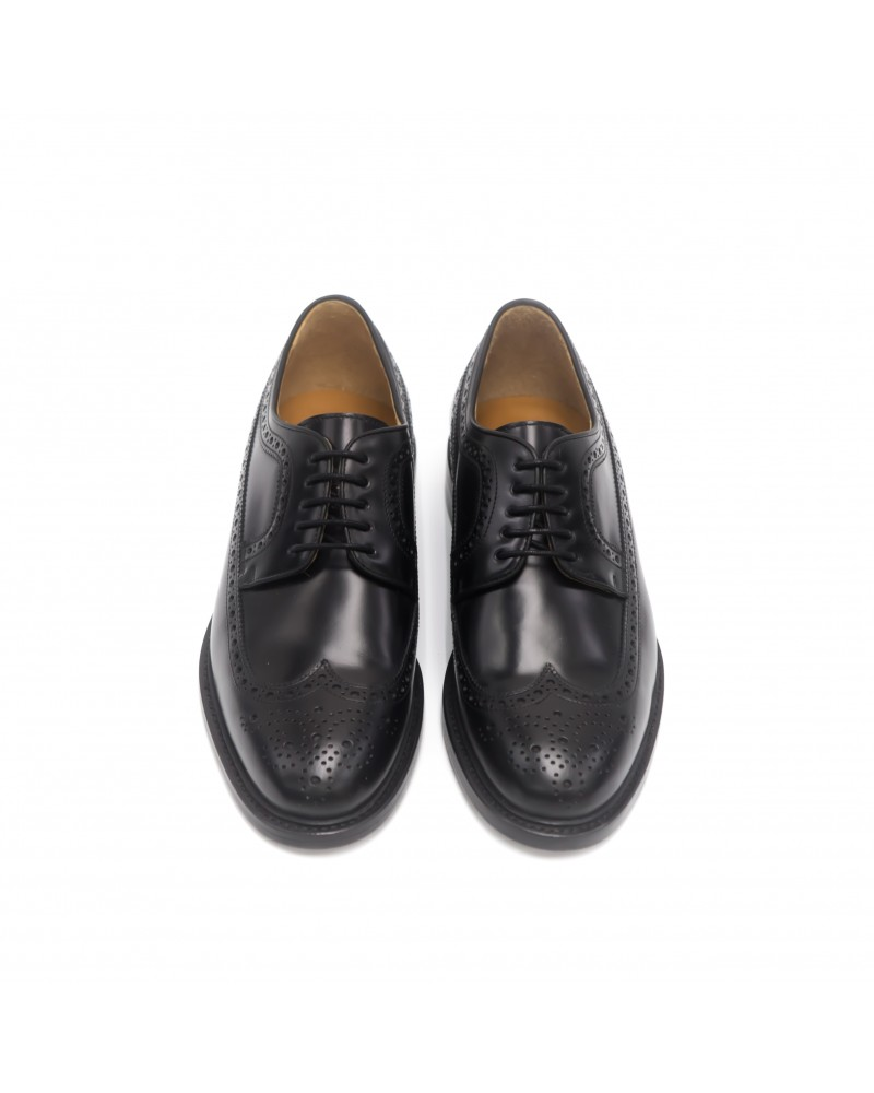 Berwick 1707 Longwing Brogues · Black