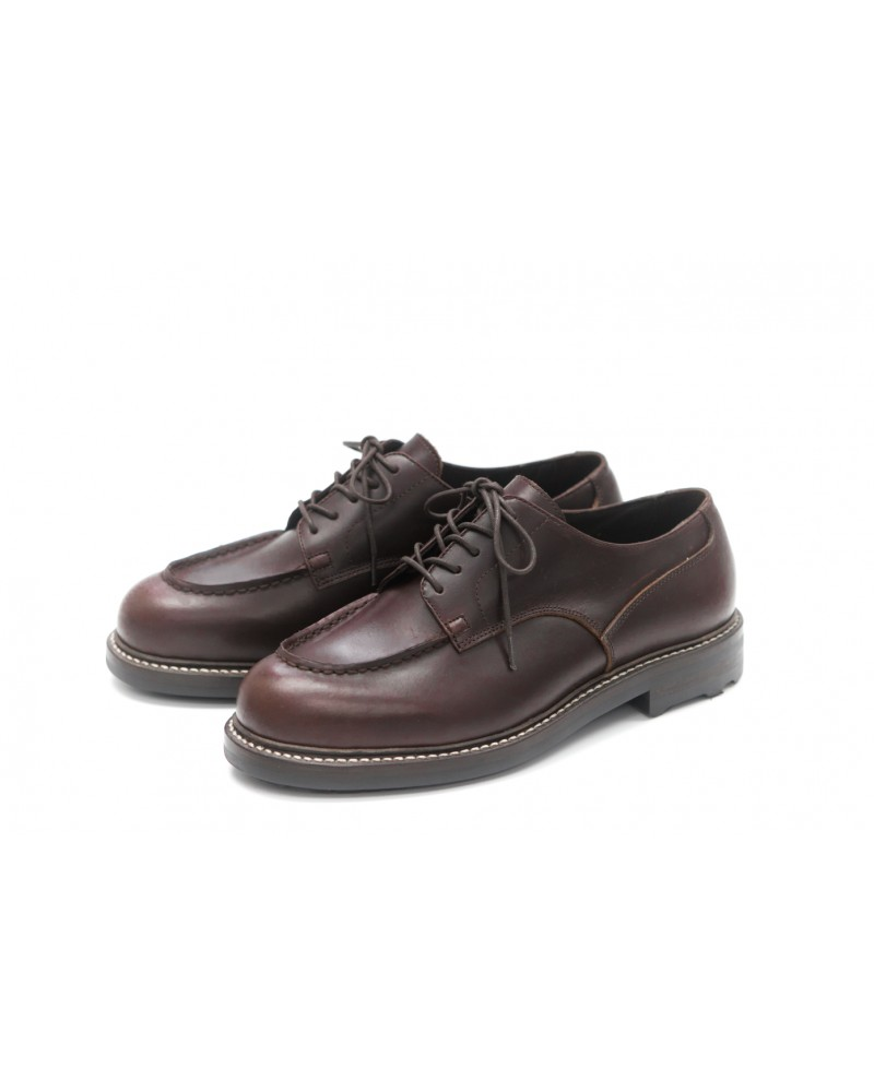 Brother Bridge MTO for Wst End By Hoax Apron Shoes・Dark Brown