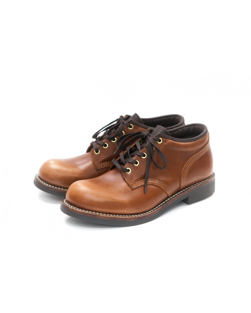 Brother Bridge MTO for Wst End By Hoax Ankle Boots - Brown