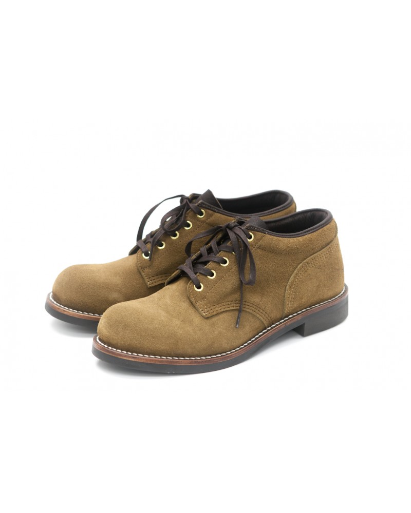 Brother Bridge MTO for Wst End By Hoax Ankle Boots - Beige (Suede)